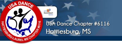 USA Dance (Hattiesburg-Laurel MS) Chapter #6116